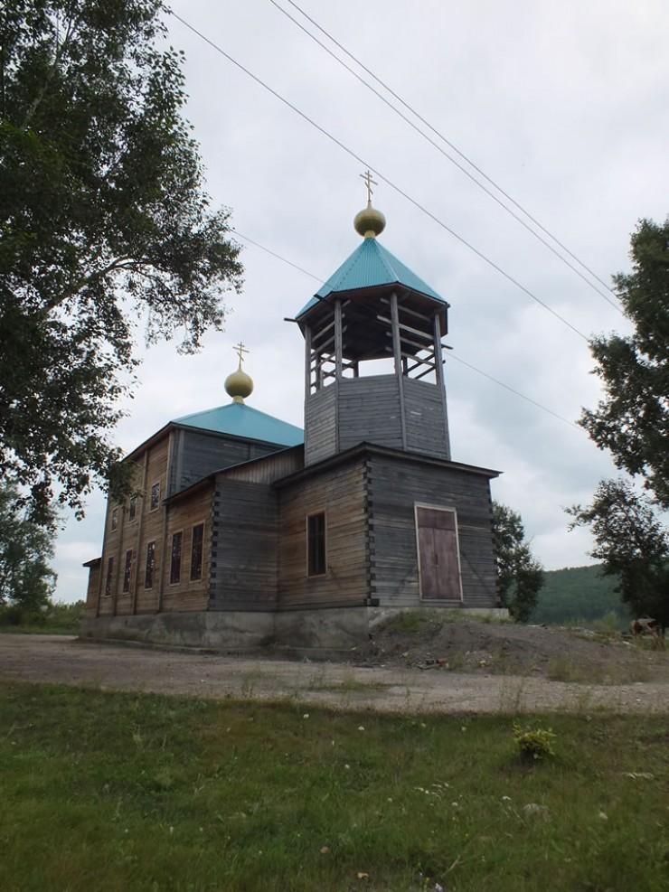 Строящийся храм Святого Пророка Илии