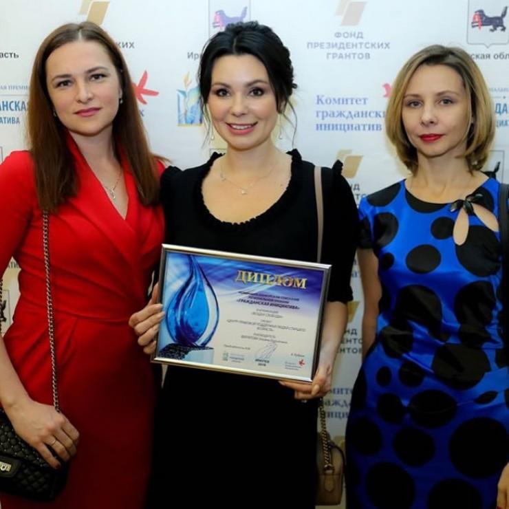 Юристы Центра поддержки людей старшего возраста: Марина Доброхотова, Ульяна Филатова  и Лариса Непомнящих (слева направо)