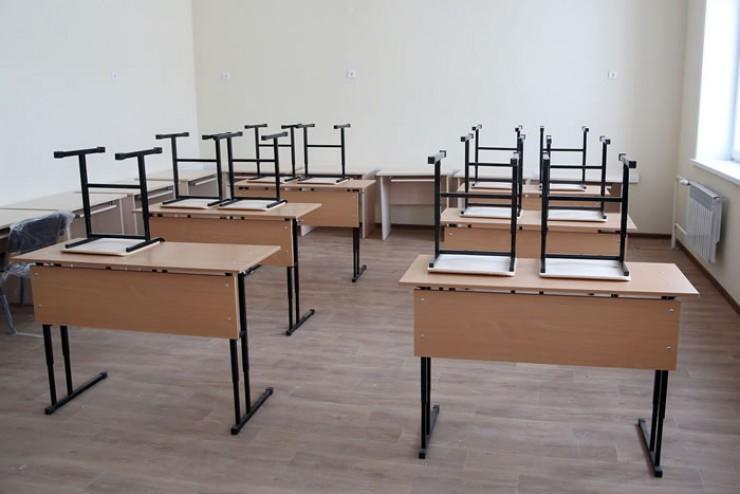 Уютные классы в новой школе уже ждут первых учеников