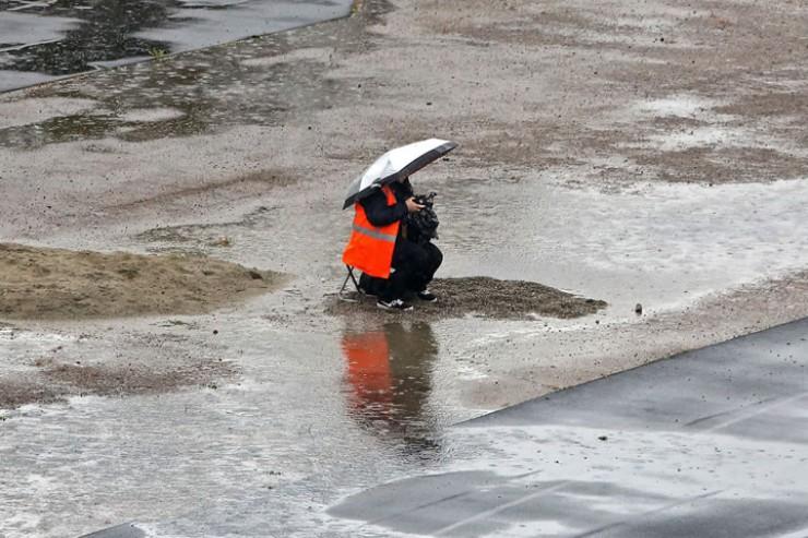 Одиночный «пикет» иркутского фотографа на «Труде»