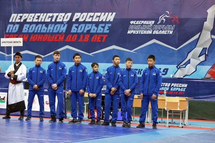 Спортсмены Иркутской области на параде открытия первенства