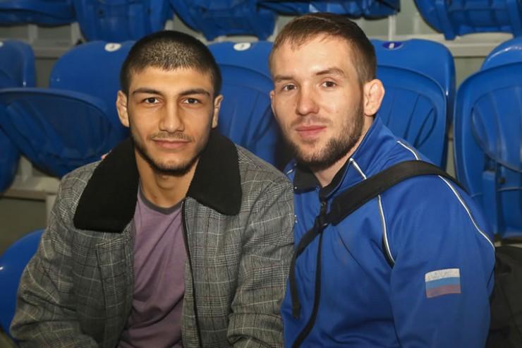 Гусейн Гусейнов и Михаил Лелеко, его товарищ  по иркутской команде, один из победителей нынешнего турнира памяти Константина Вырупаева