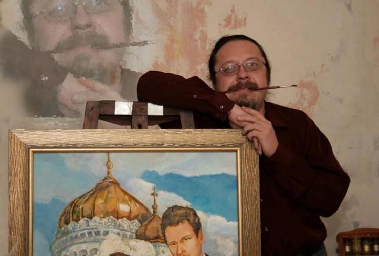 Художник Константин Налётов родился в 1966 году в Иркутске. В 1987 году поступил в Иркутское училище искусств, которое окончил в 1991 году по специальности «художник-оформитель». Его работы выставлялись не только в России, но и за рубежом. Художник скоропостижно скончался 13 ноября 2015 года. Работы мастера находятся в частных коллекциях России, Франции, Германии и других стран