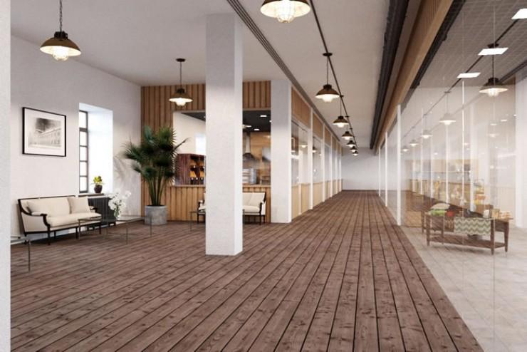 Проект и визуализацию внешнего вида здания Анна Репина с командой представят на Байкалбизнесфоруме —2019, который состоится 16—17 мая. Так будет выглядеть коридор фабрики