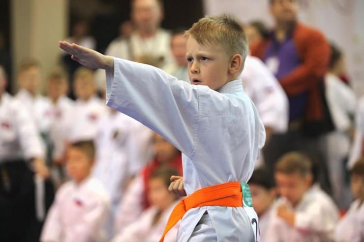 Самый юный среди спортсменов клуба «Фудо-джитсу» победитель Кубка Европы Степан Кочев