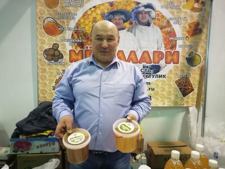 Радий Галеев знает все о пользе продуктов пчеловодства