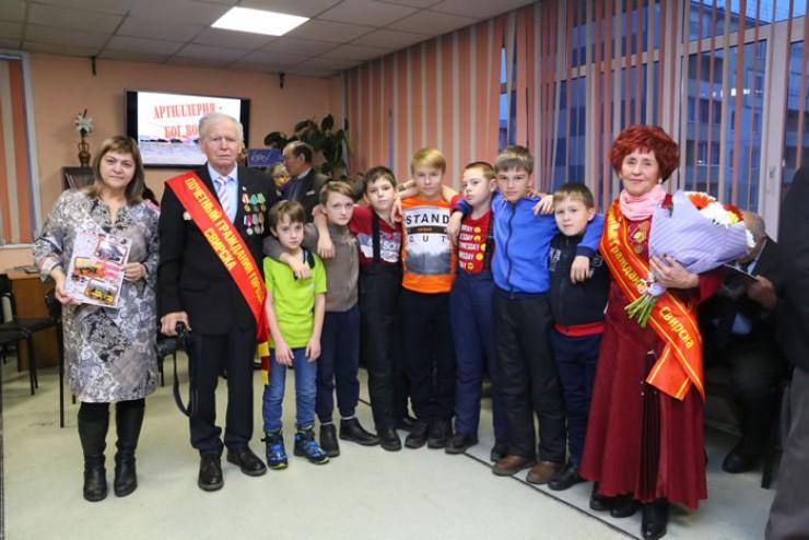 Послушать о боевых традициях русской артиллерии пришли студенты, школьники и юнармейцы