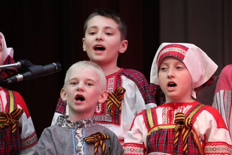 Праздничный концерт «День Победы в сердцах поколений» прошёл в Иркутске