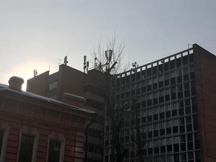 Такие антенны «бьют» в стороны, а не вниз; кроме того, от воздействия полей жильцов защищают железные крыши.