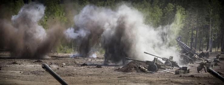 Впервые на площадке недалеко от полигона ТБО военно-историческая реконструкция боя была разыграна в мае прошлого года. Нынче действо обещает быть не менее масштабным.