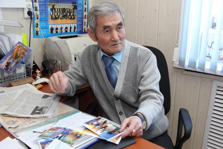 Юрий Петрович Матапов делает все, чтобы внук мог заниматься спортом и получать образование