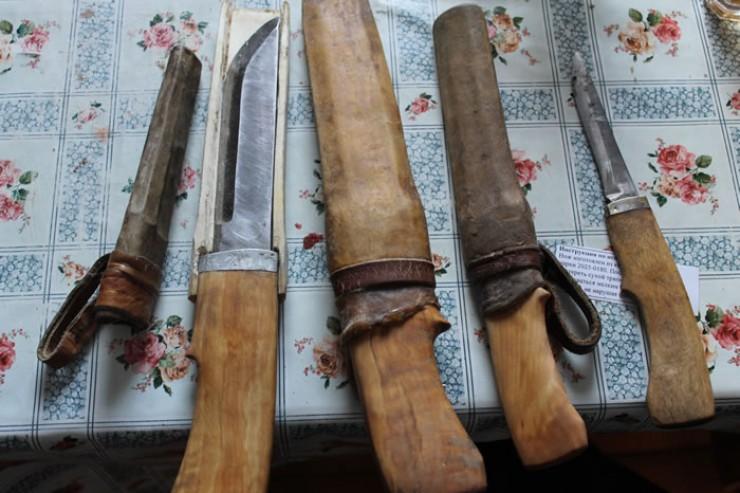 Вот такие они — традиционные бурятские ножи