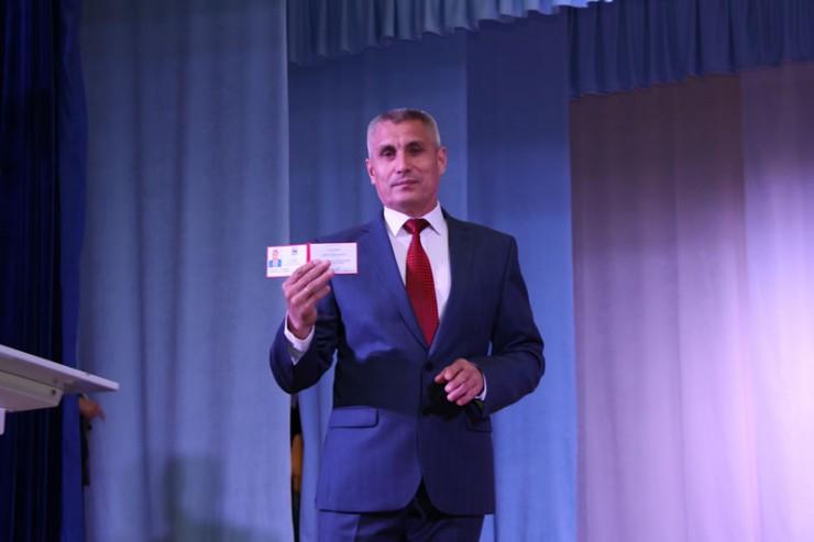 Сергей Середкин пообещал работать на благо Родины