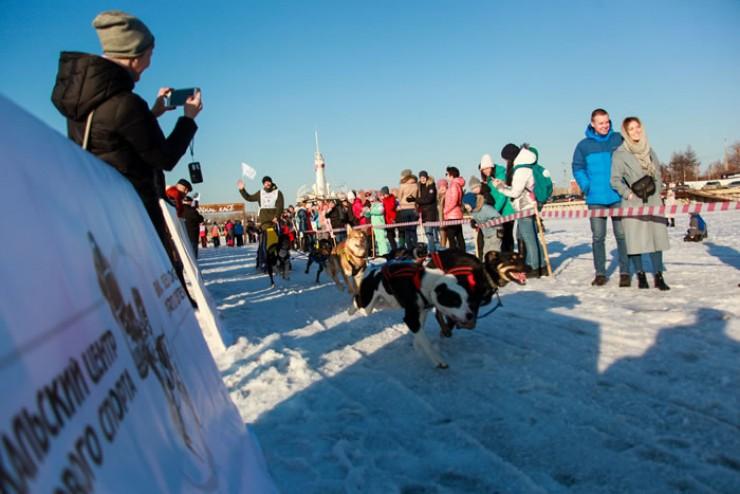 Старт гонке был дал на Иркутском водохранилище