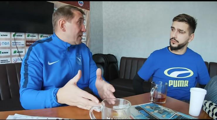 Олег Яковлев, главный тренер ФК «Зенит»: «У нас все игроки местные. Я видел, как они росли; получается, мы родные люди, у нас клуб — практически семья. Это ответ на вопрос про мотивацию у игроков».