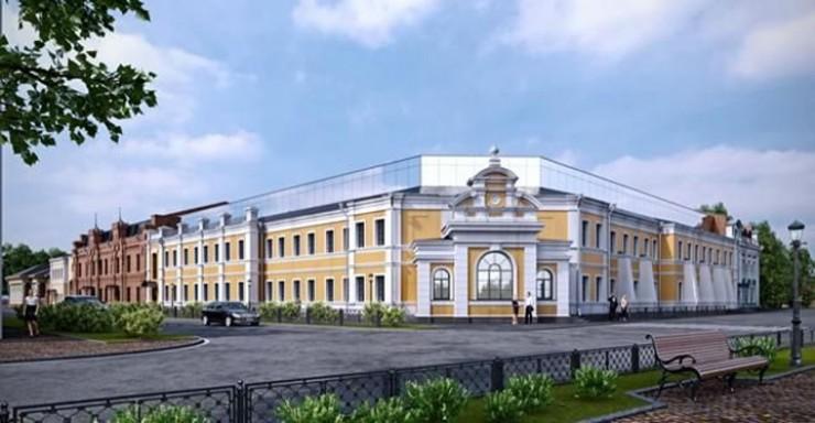 Так, согласно утвержденному проекту, будут выглядеть Курбатовские бани XXI века.