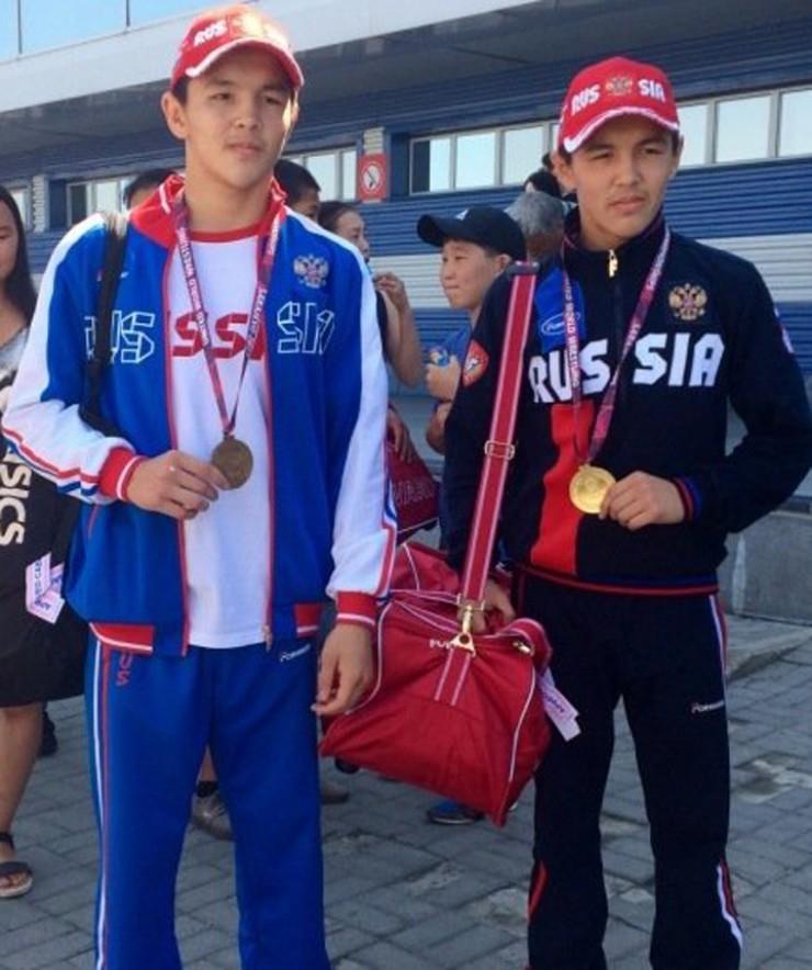 Братья Федор и Александр Балтуевы стали победителями на первенстве России в 2017 году