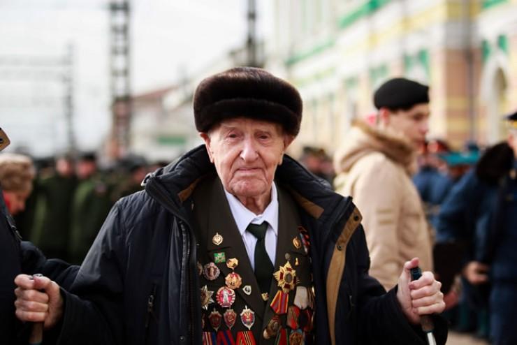 Ветерану ВОВ Вишнякову исполнилось в прошлом году 100 лет.
