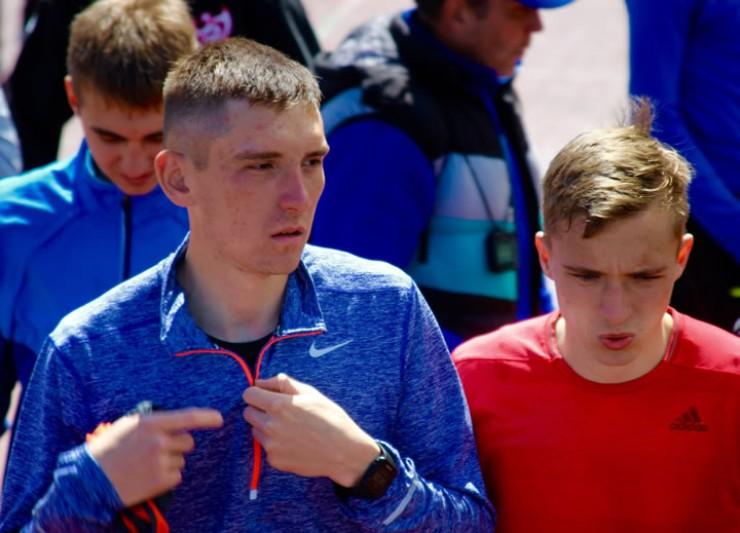 Николай Воливецкий не смог попасть в призеры, зато показал личный рекорд.̆