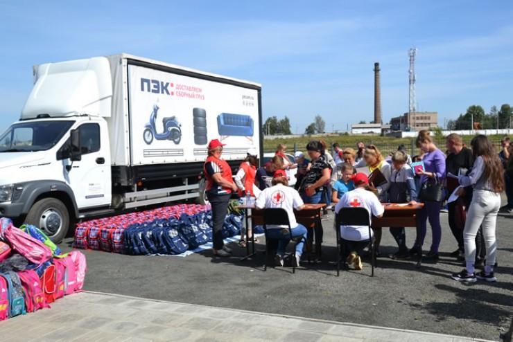 Более 500 рюкзаков передал Красный Крест детям Тулуна в рамках акции «Школьный ранец — добрый груз»