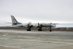 Бомбардировщик-ракетоносец Ту-95 «Иркутск».