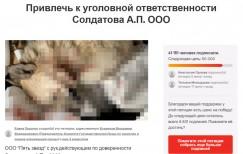 Так выглядит страница с петицией Елены Прадчук к руководству правоохранительных органов России. Люди активно подписываются, оставляют комментарии, в которых требуют самого сурового наказания тем, кто причастен к жестокому убийству животных и разворовыванию бюджетных денег