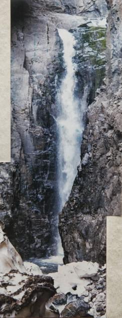 Водопад, на котором произошла трагедия.