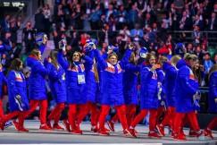 Мастерицы русского хоккея на церемонии открытия Универсиады