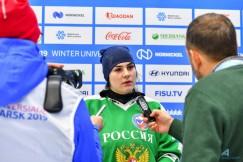Одна из героинь матча со шведками — вратарь российской сборной  Татьяна Курносова