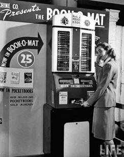 Книжный автомат по 25 центов за книгу