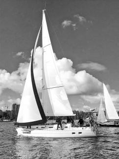 Яхта «Благовест»: ее капитан Александр Парфенов - представитель династии любителей парусного спорта
