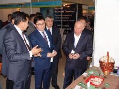 Руководители НТПП Монголии на открытии выставки «Ворота в Азию»
