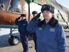 Командир Иркутской авиационной эскадрильи подполковник  Алексей Алехин