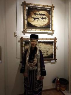 На днях Екатерине Осиповой было присвоено звание «Народный мастер Иркутской области»