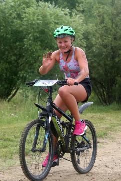 Победитель суперспринта 13-летняя Даша Гоголева