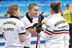 Бронзовые призёры первенства — девушки российской сборной