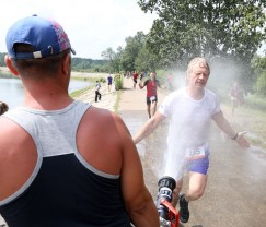 Бонус от организаторов — прохладный душ