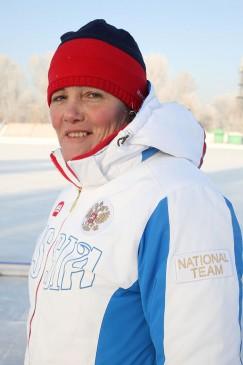 Тренер юниорской сборной России Алла Шершнёва