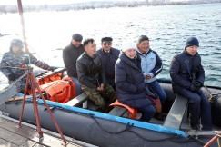 На форелевый остров можно добраться только на лодке