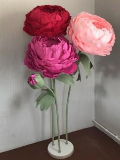 Ростовые цветы — модное увлечение современных дизайнеров