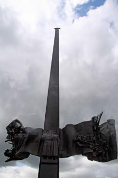 Монумент памяти погибших на Халхин-Голе