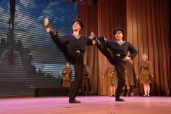 «Яблочко» — танец военных моряков