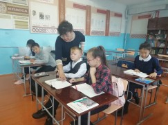 Маргарита Буинова на занятиях много часов отводит чтению книг