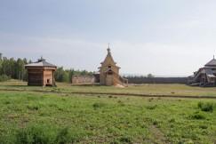 Острожный комплекс в 2019 году дополнила церковь Владимирской Иконы Божией Матери
