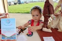 Любовь Андреевна трёх лет от роду пришла на ярмарку с мамой-мастерицей