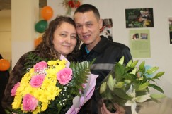 Наталья и Вадим поженились после первого свидания и счастливы вот уже несколько лет. Огромное расстояние для их любви не помеха.