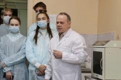 Сергей Никифоров, заведующий отделом экспериментальной хирургии с виварием
