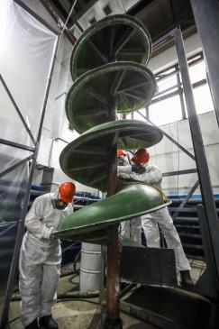 Материалы для изготовления винтовых сепараторов «Минерал» подобраны с особой тщательностью, чтобы обеспечить продолжительный срок службы оборудования и низкие эксплуатационные расходы.