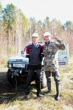 Павел Кузнецов нашел идеального штурмана — сына Андрея.