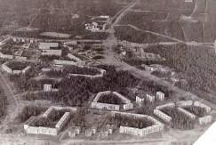 Первые микрорайоны Саянска. Середина 1970-х годов.